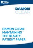 Damon Clear:  Mantenimiento de los Brackets