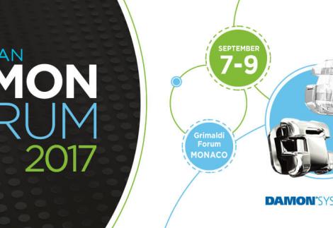 DAMON FORUM reunirá a la elite ortodóntica europea del 7 al 9 de Septiembre